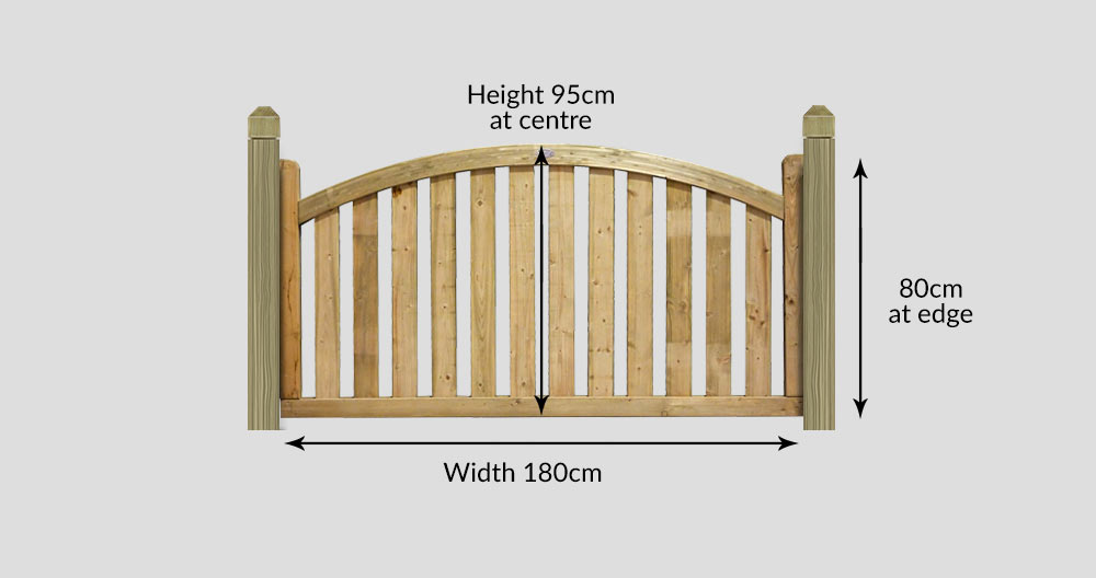 Boundary Arched Top Deck Panel