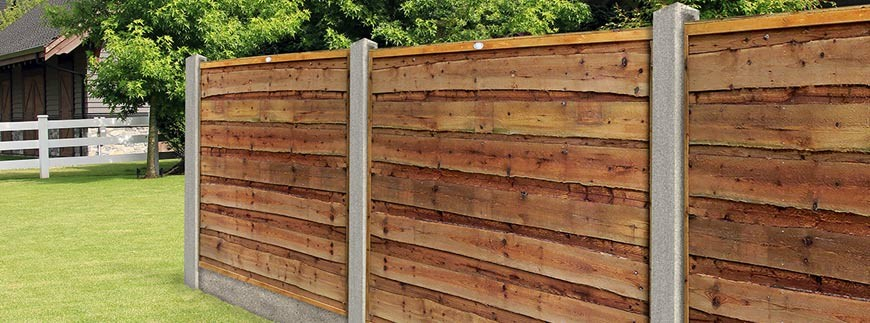 Traditional Garden Fence Panels