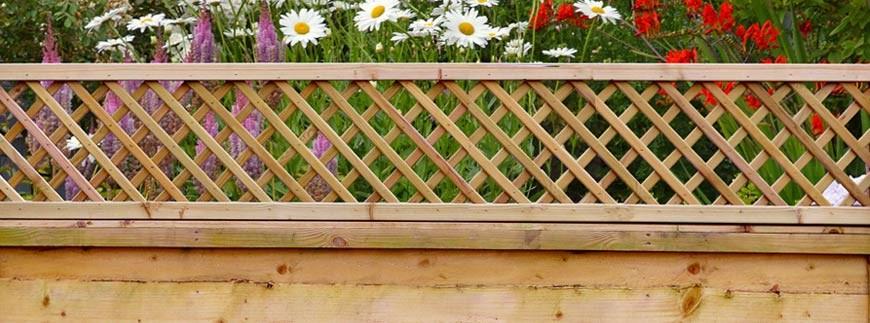 Garden Fencing Continental Trellis