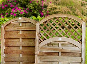 Wooden Continental Gates