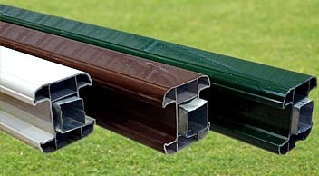 PVC Fence Posts and Bases