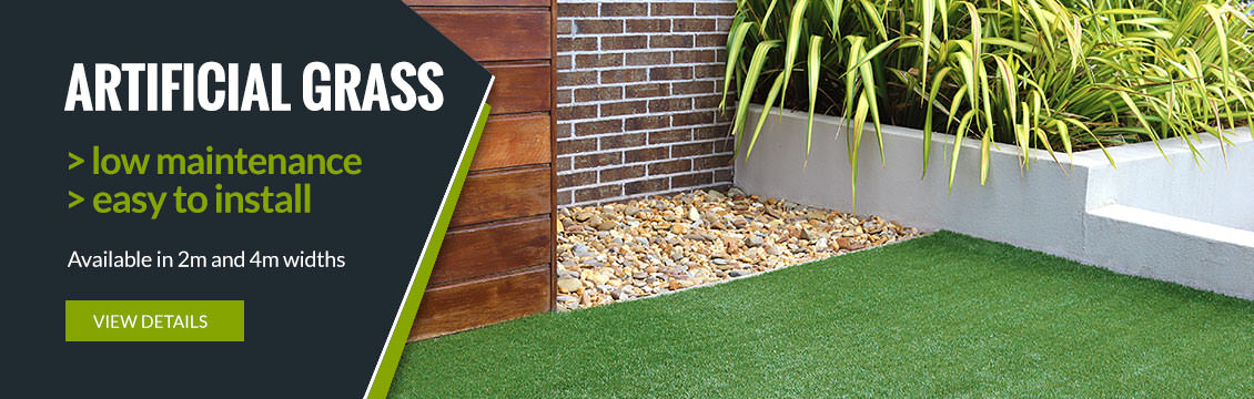 Artificial Grass - low maintenance, easy to install