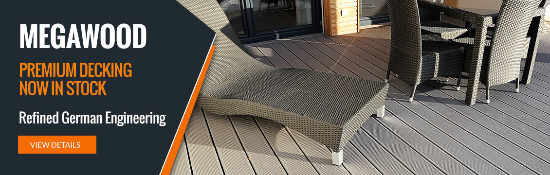 Megawood Premium Decking now in stock