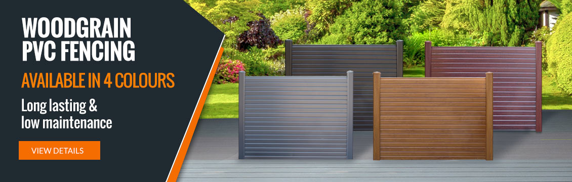 Liniar PVC Fencing - Long lasting & low maintenance, in 4 colours