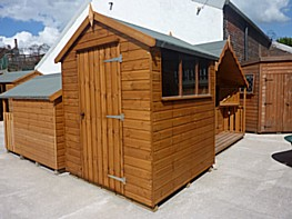 Belton Apex Garden Shed - The Belton Garden Shed