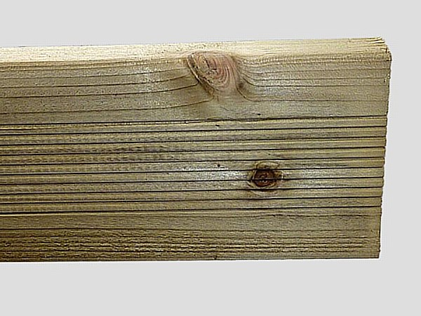 Ribbed Timber Gravel Board