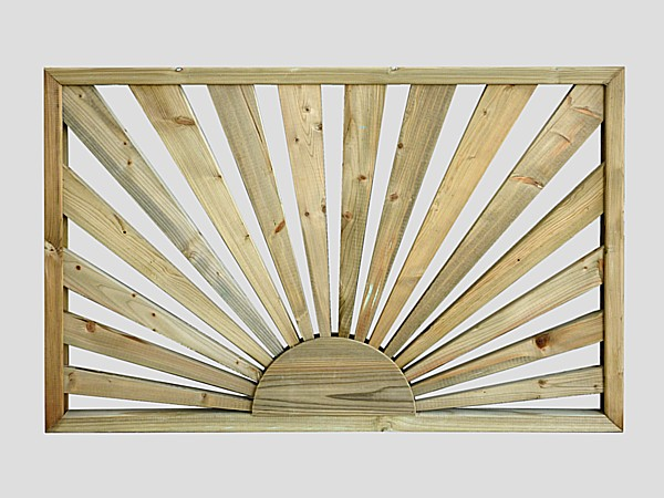 Sunburst Deck Panel