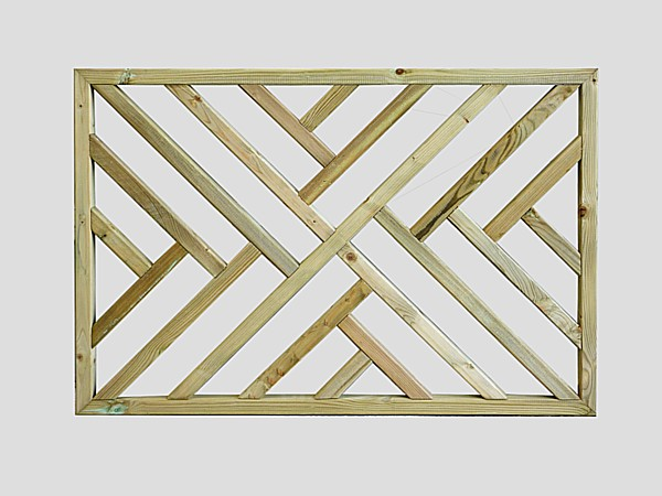 Cross Hatch Deck Panel