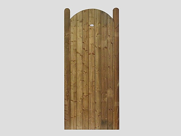 Front of Curved Pennine Elite Plus T&G Gate