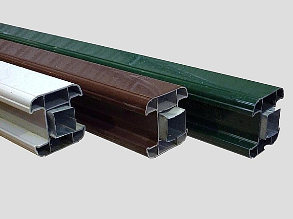 Pvc Fence Posts Amp Bases Pvc Plastic Gravel Board Base