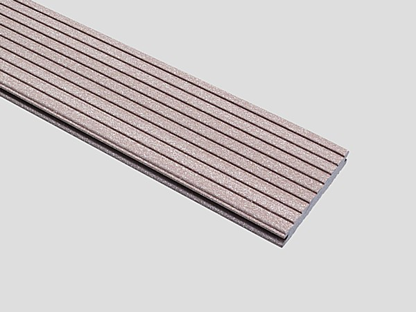 EasyDeck Trend Dual Sided Board - Terra Brown - EasyDeck Trend Terra Brown Board - Grooved Side