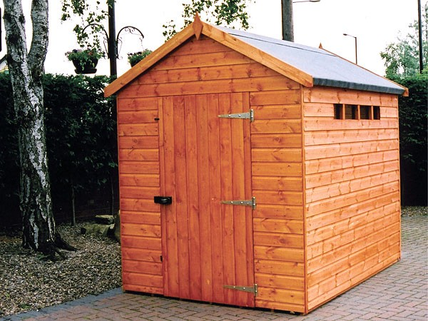 wooden garden sheds security apex garden shed pennine