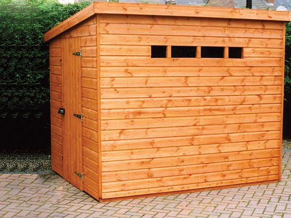 Security Pent Garden Shed - Security Pent Shed