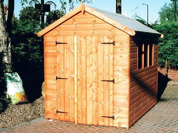 Wooden Garden Sheds Rockingham Workshop Shed Pennine
