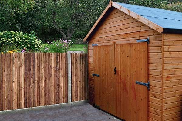 Timber Garages Heavy Duty Wooden Garage Pennine