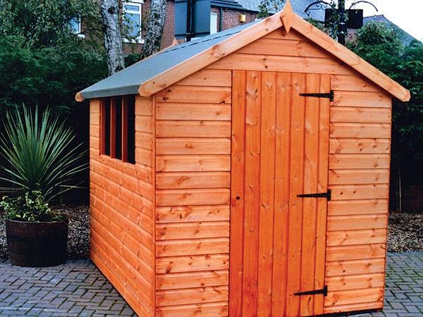 Wooden Garden Sheds Bramley Apex Wooden Garden Shed