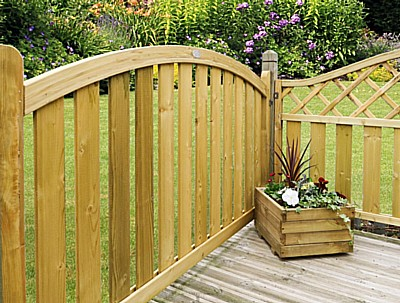 Boundary Arched Top Deck Panel - Boundary Arched Display
