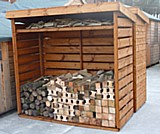Vented Log Store