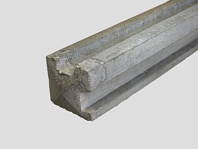 Concrete Corner Fence Posts