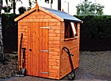 Wentworth Apex Timber Garden Shed