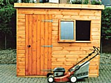 Wentworth Pent Timber Garden Shed