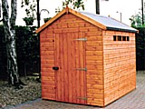 Security Apex Garden Shed