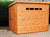 Security Pent Garden Shed