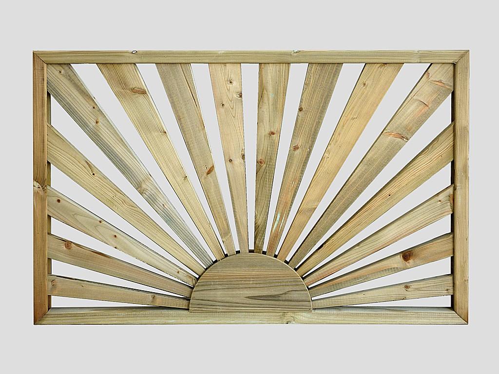Decking fence panels sunburst deck panel pennine fencing sunburst deck panel sunburst deck panel sale price on sunburst deck panel baanklon Choice Image