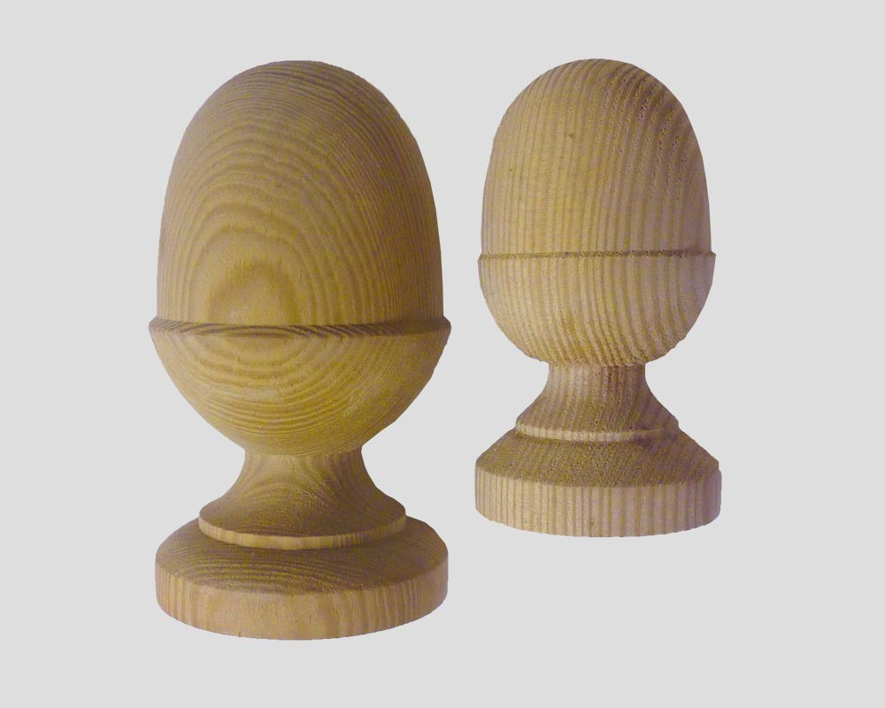 Fence Accessories Acorn Timber Finial Pennine Fencing