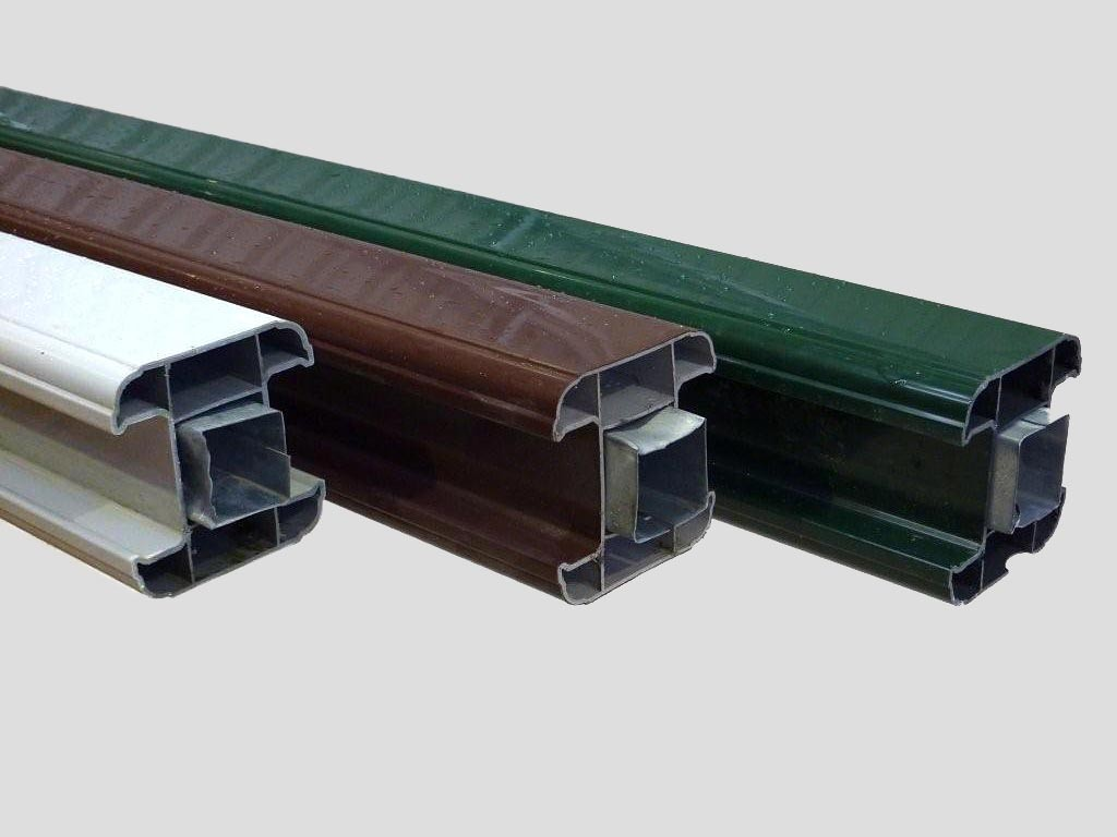 PVC Fence Posts & Bases | PVC (Plastic) Inter Fence Posts | Pennine
