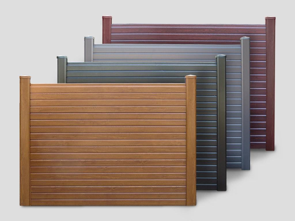 Pvc Fence Posts Amp Bases Woodgrain Pvc Gravel Board Panel
