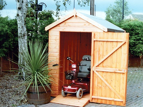 Wooden Garden Sheds Mobility Apex And Pent Shed