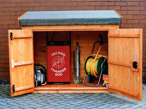Tool and Log Storage Sheds